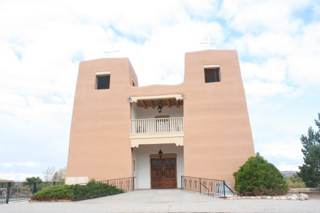 Sacred heart Church in Nambe, NM