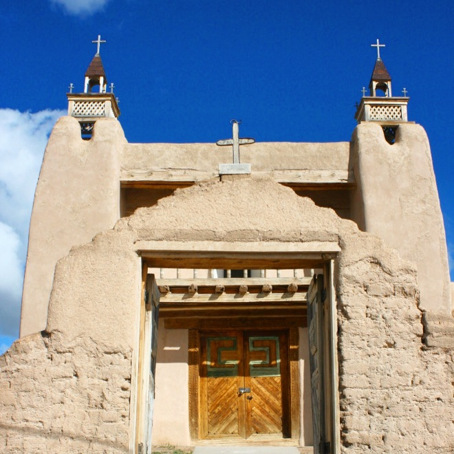 San Jose de Garcia Church in Trampas, NM